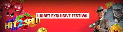 unibet eksklusiv festival freespins hit 2 split september